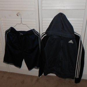Adidas Bundle Jacket & Shorts